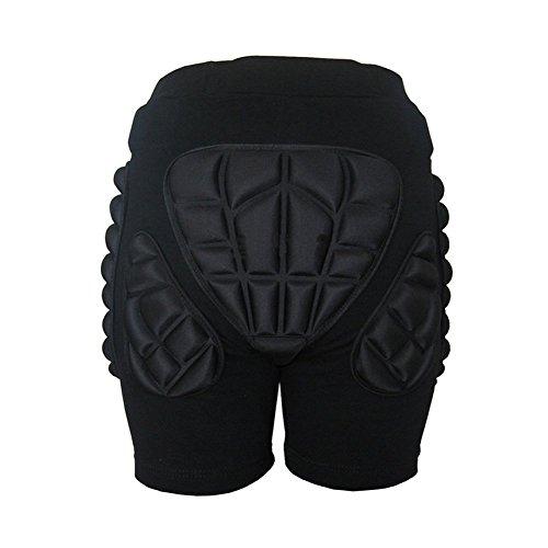 Estone - Pantalones cortos acolchados para esquiar y patinar (tallas XS a 3XL) Talla:mediano