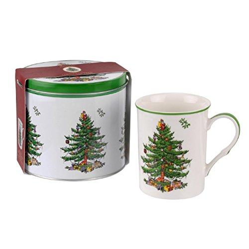 Spode Christmas Tree Mug and Tin Set