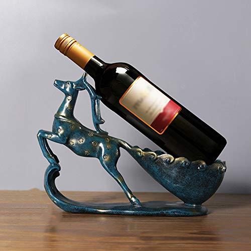 Creativo Estante,Exhibición De Botella De Licor,Botellero De Vino De Niña De Estilo Europeo,para Birthday Boda Fiesta De Navidadclub Barras,C
