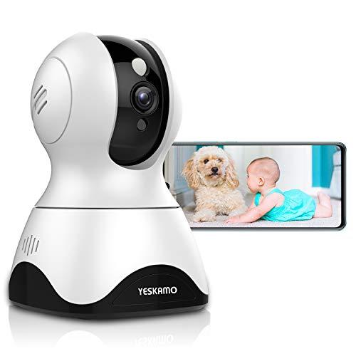 YESKAMO Security Camera Wireless 3 MP Indoor WiFi IP Camera Baby Monitor...