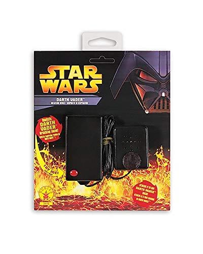 Rubie's-déguisement officiel - Star Wars- Dark Vador La Respiration Noir- Taille Standard- ST-2416