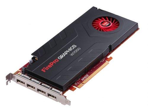 Sapphire AMD Firepro W7000 Grafikkarte ATI (PCI-e, 4GB, GDDR5 Speicher, DP 1 GPU)
