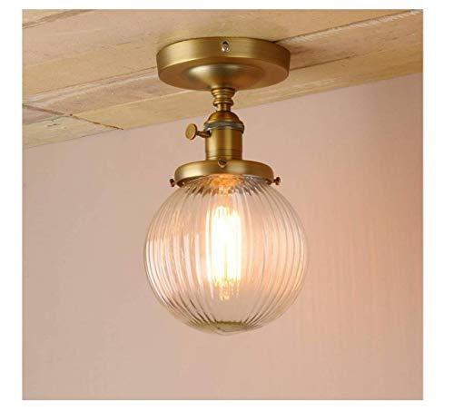 deng Industrielle Schwarze Deckenpendelleuchte Mit Geripptem Glasschirm Für Kitchen Island Bed Room Restaurant,Antiquität,Lampe