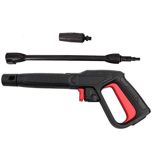 Pistola a spruzzo per Lavaggio Auto, idropulitrice ad Alta Pressione 16Mpa con Getto d'Acqua a spruzzo Adatto per Bosch AQT Black Decker