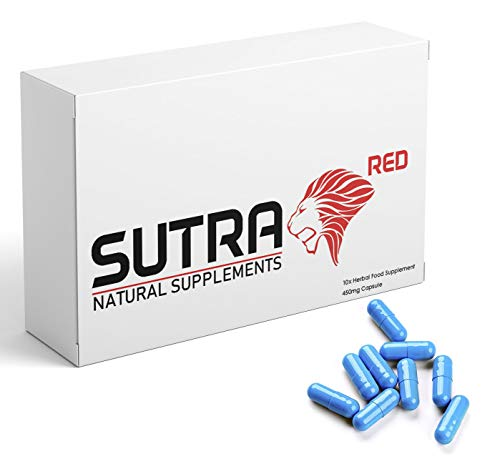 Ultra Strong Sutra Red - (10 Pack) New & Effective 450mg...