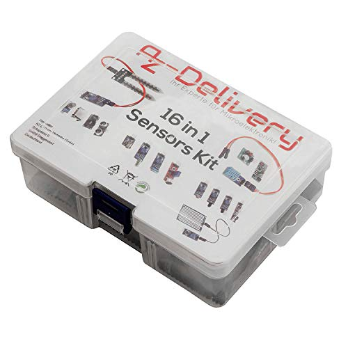 AZDelivery Kit 16 in 1 - Kit di accessori per Raspberry Pi/Arduino con eBook