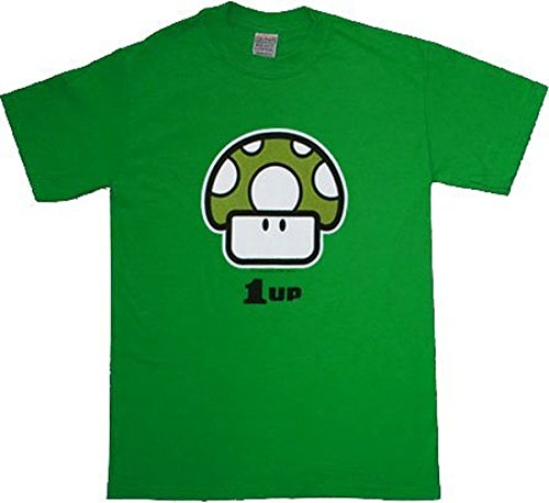 Nintendo - Camiseta verde large