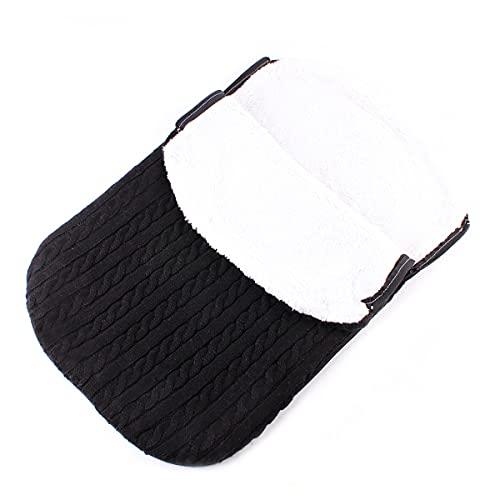 MH-RING Saco de Dormir Bebe, Saco de Dormir Ligero Sin Productos Químicos Ultraligero para Uso en Interiores y Exteriores (Color : Black)