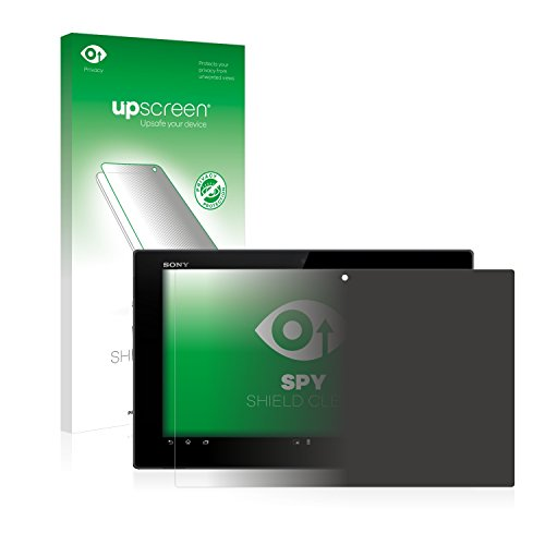 upscreen Pellicola Privacy Compatibile con Sony Xperia Tablet Z SGP311 Anti-Spy