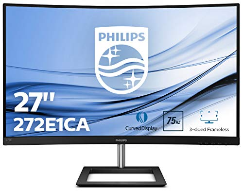 Philips Curved Gaming Monitor, zwart Full HD 27 inch zwart