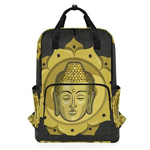 DEZIRO Buddha Casual Mochila Bolsa de Hombro