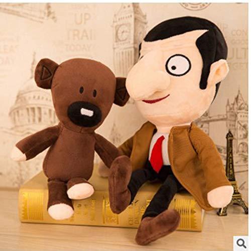 juguete de Peluche 30cm Herr Bean Teddybär Nette Kawaii Plüsch Stofftiere Mr.Bean Spielzeug Für Kinder Geburtstagsgeschenk Geschenke