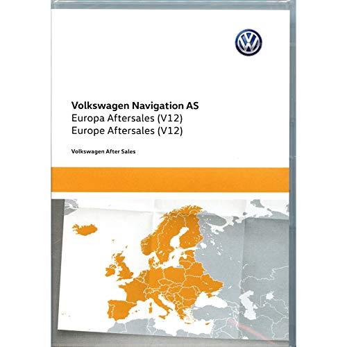 Volkswagen 5NA919866AR Speicherkarte SD-Karte Europa West V12 Navigationssystem Update Navi Kartendaten *** nur für Discover Media (System AS) ***