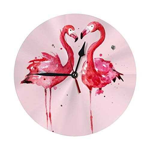 (50% OFF) Pink Flamingo Wall Clock $9.99 – Coupon Code