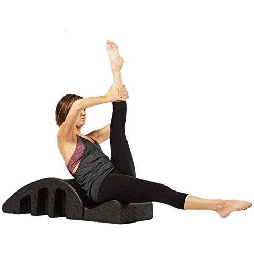 Hammer Yoga Pilates Cama de Masaje, Corrección Tronco Pilates espinal Cervical de Espuma deformidad cifosis Corrección aparatos de Ejercicios de Pilates Arco 🔥