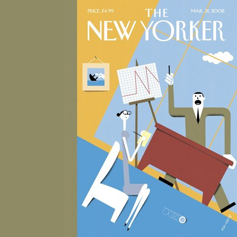 The New Yorker (March 31, 2008) copertina