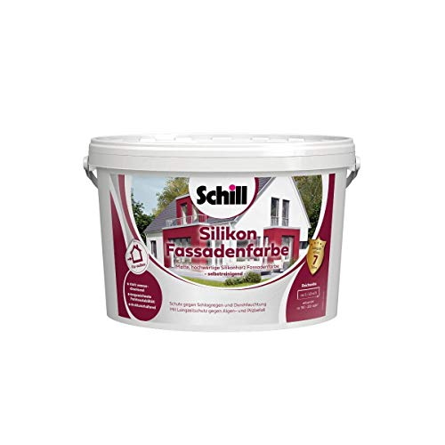 Schill Silikon Fassadenfarbe 5 Liter