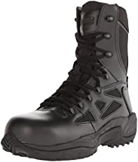 Reebok Work Men's Rapid Response RB8874 Safety Boot,Black,6.5 M US