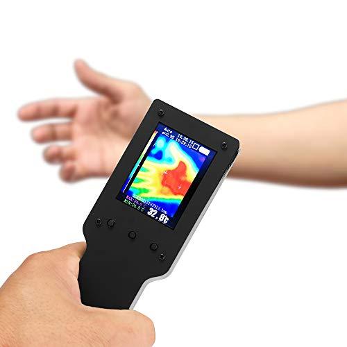 Caméra d'imagerie Thermique KKmoon Imageur Thermique Portable Infrarouge de Poche Thermomètre d'affichage Numérique LCD de 2,4 Pouces