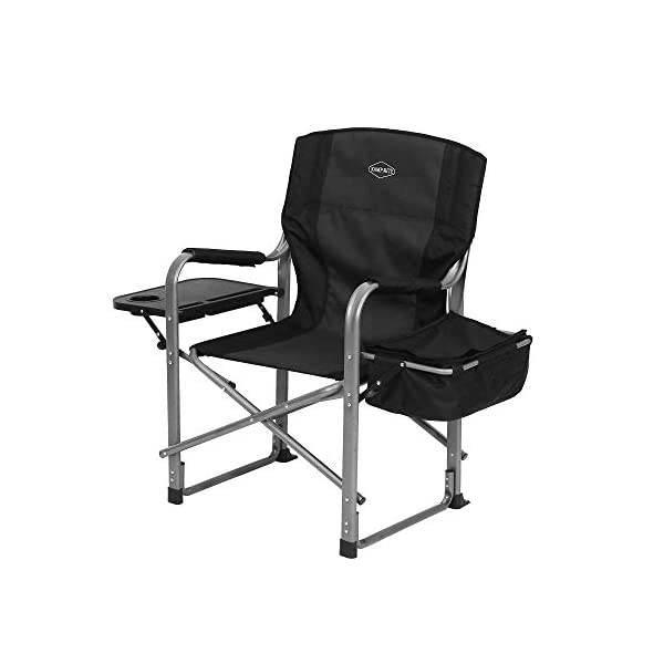 Kamp-Rite Director's Chair with Side Table & Cooler
