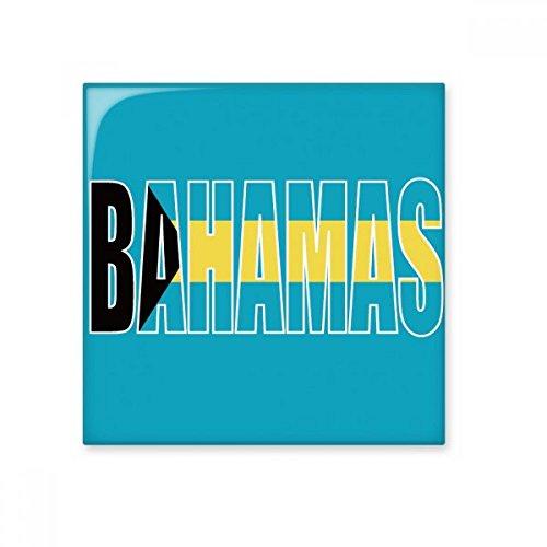DIYthinker Bahamas land vlag naam glanzende keramische tegel badkamer keuken muur steen decoratie ambachtelijke gift