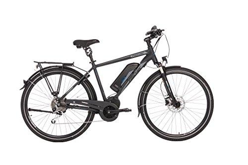 """FISCHER E-Bike TREKKING Herren ETH 1861 E-Bike, Anthrazit, 28\"""", RH 50 cm, Mittelmotor 48 V/557 Wh"""