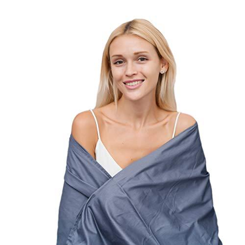 MySweetHome Therapiedecke 135x200 6kg Weighted Blanket   2020 Bettdecke für Erwachsene 6kg   Innovative schwere Gravity Decke