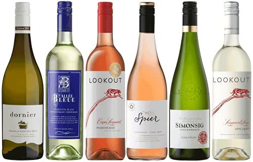 Weine für den Sommer   Weinpaket mit frischen hochwertigen Sommerweinen aus Südafrika (6 x 0.75l)   Lieblich und Trocken   Weine für jeden Geschmack von CAPREO