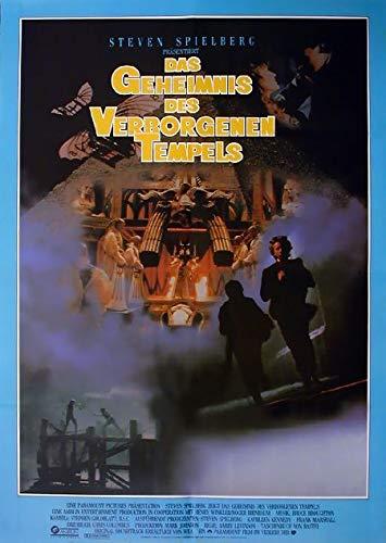 Das Geheimnis des verborgenen Tempels (1985) | original Filmplakat, Poster [Din A1, 59 x 84 cm]