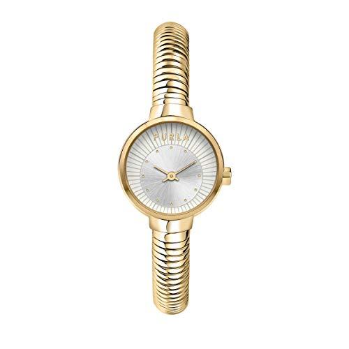 Furla Orologio da donna, Collezione SLEEK, in Acciaio, PVD oro giallo - R4253137501