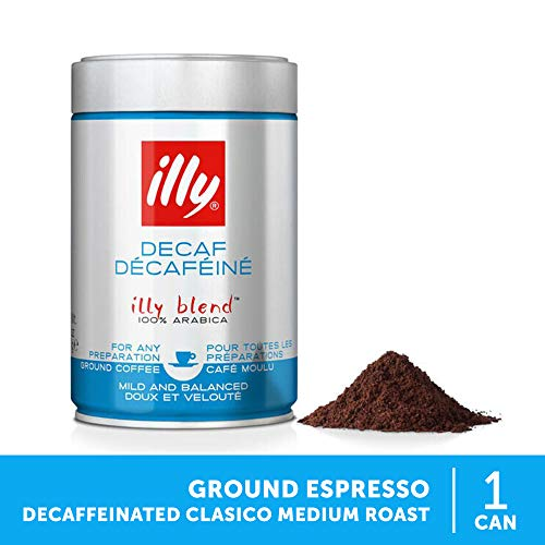 2 x illy Espresso entkoffeiniert gemahlen 250g Dose