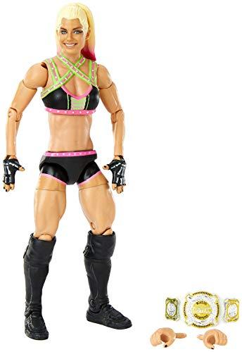 WWE Alexa Bliss Elite Collection Series 82 Figura de acción de 6 pulgadas Posable...