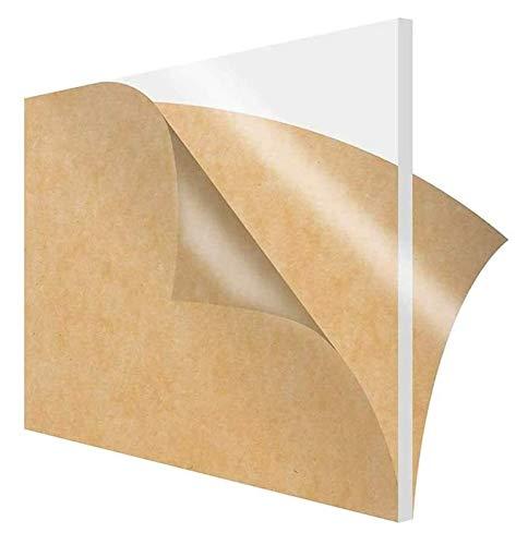 ZKDY 6pcs Transparente Clear Plástico Hoja Acrílico Polimetilo Orgánico Polimetil Metacrilato Panel,...