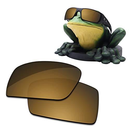 Acefrog Lentes de repuesto polarizadas con revestimiento AR de 1,4 mm de grosor para gafas de sol Oakley Crankshaft OO9239