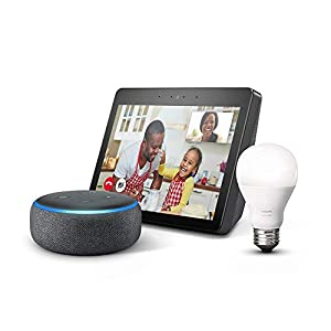 """Echo Show (2nd Gen) – Premium sound and a vibrant 10.1"""" HD screen - Charcoal from Amazon"""