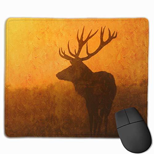 GSRONY Art Gaming Mousepad, Hirsch...