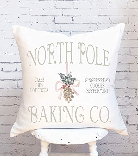 Dozili Pillow Cover Christmas Pillow North Pole Baking Co product image