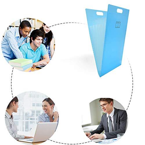 ドキュメントファイルA4ファイルバッグ大容量多機能書類ケース分類収納持ち運び撥水書類/ファイル/伝票収納事務用品学校オフィスラベル(グリーン)