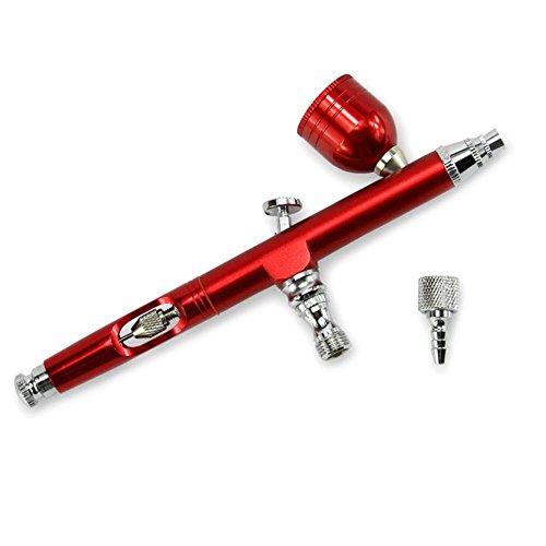 Seasons Shop Profi Airbrush spuitpistool met zwaartekracht voor lak/nagelkunst, kunstprojecten, modelbouw, 0,3 mm