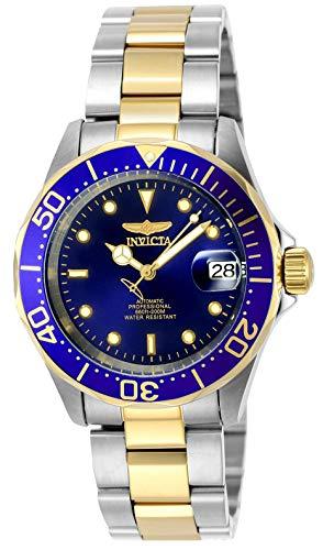 Invicta Pro Diver Orologio Uomo Automatico, 40mm, Blu, 8928