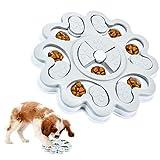KATELUO Juguete de Puzle para Perro, Juguetes Intelectuales de Comida para Perros, Dispensador de Premios Interactivo Rompecabezas para Perros, Dog Puzzle Feeder Comedero Lento para Perros y Gatos