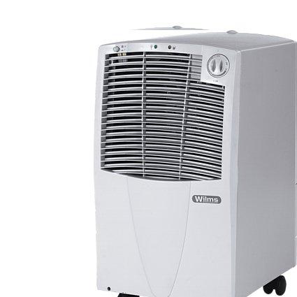 Wilms KT 210 Luftentfeuchter Luftentfeuchter Bautrockner Entfeuchter Kondenstrockner max. 20,3 L