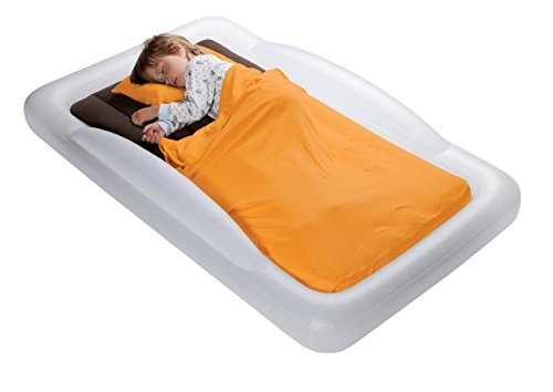 The Shrunks Toddler Travel Bed Portable Inflatable Air Mattress Bed for Travel, Camp or Home Use,...