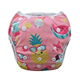 babygoal Baby Swim Diapers, Reusable Washable and Adjustable for Swimming, Outdoor Activities and Daily Use, Fit Babies 0-2 Years SWD39-CA