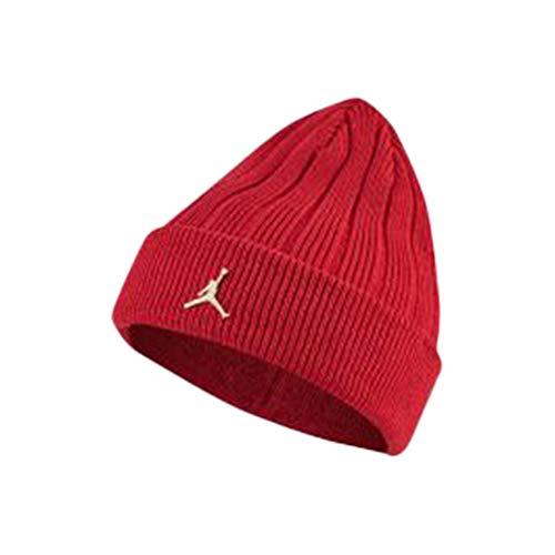 Nike Jordan Cuffed Beanie Reflect Gym RED/Black/White