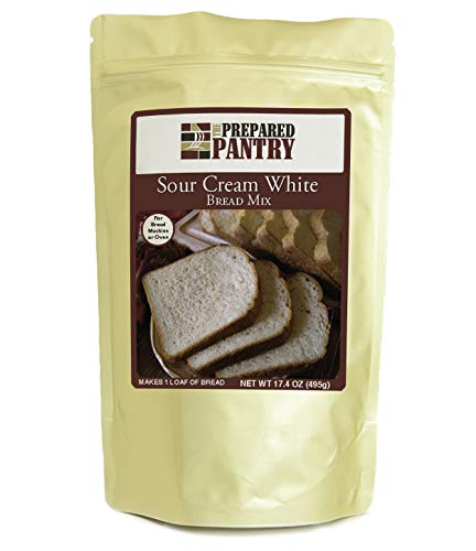 The Prepared Pantry Sour Cream White Gourmet Bread Mix; Single Pack; For Bread Machine or Oven
