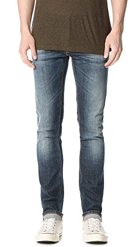 Nudie, Grim Tim, Herren Jeans Hose, Stretchdenim, Bright Dawn, W 33 L 36 [20270]