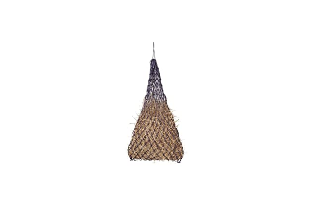 """Super Slow Feed Hay Net Nylon With  1/"""" x 1/"""" Square Openings.// Red"""