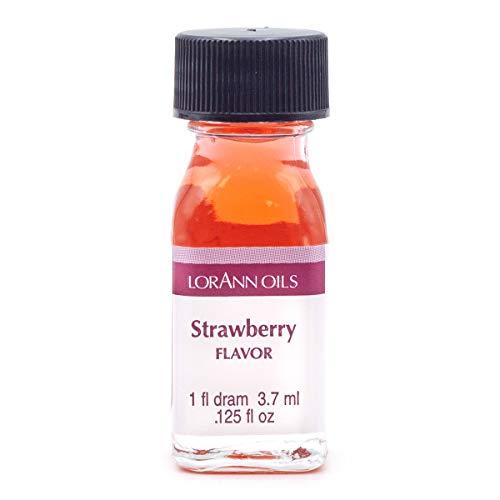 LorAnn Strawberry Super Strength Flavor, 1 dram bottle (.0125 fl oz - 3.7ml)