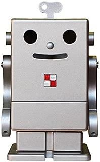 木製卓上収納ボックス ロボット ピコ ダークシルバー PICO 収納家具/小物収納/ミニロビット/ペン立て/スパイスラック/日本製/個性的/かわいい